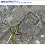 Aerial 3 of 3 - US Route 460 Bypass Interchange and Southgate Drive Relocation