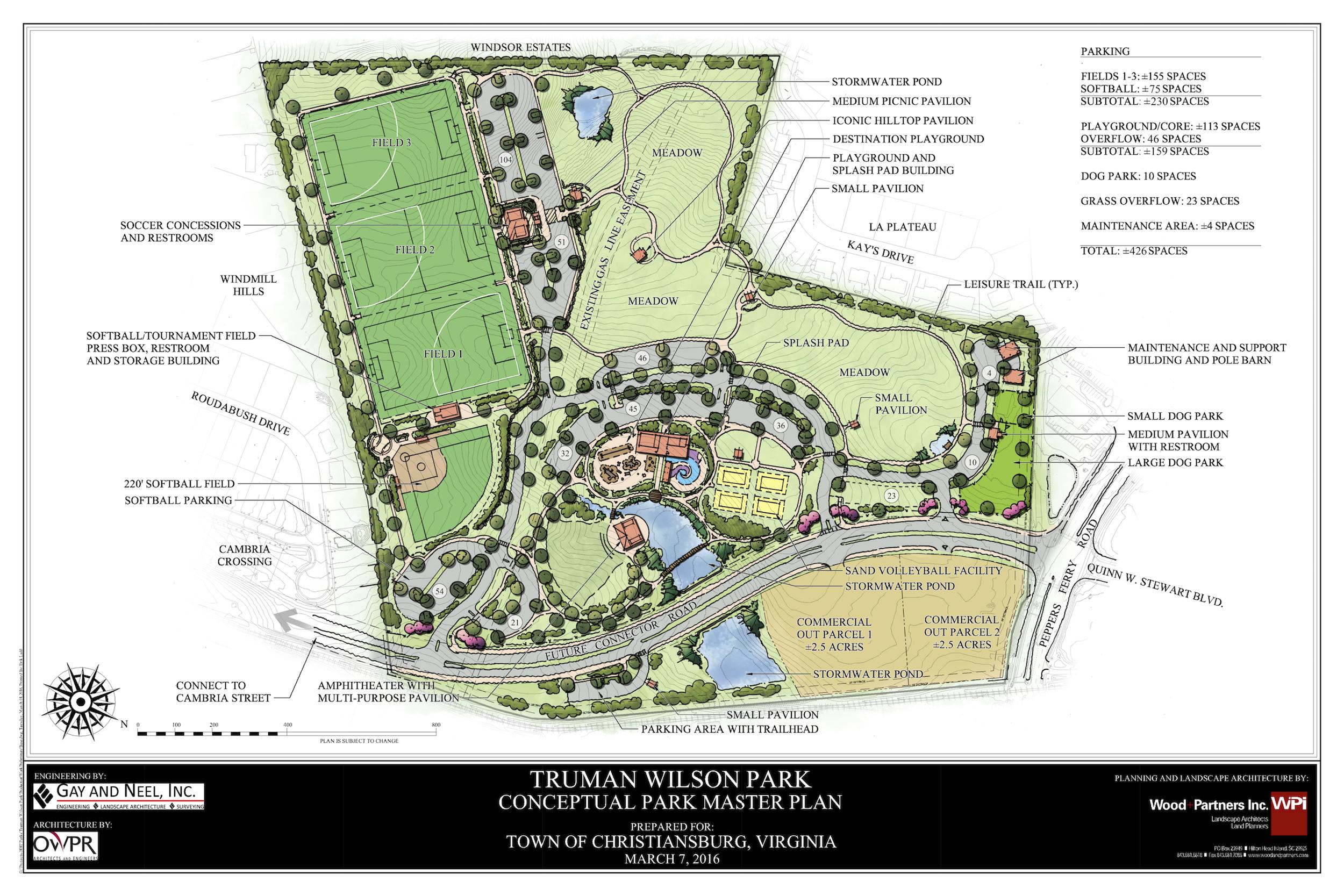 Truman Wilson Park Conceptual Master Plan 8-18-16