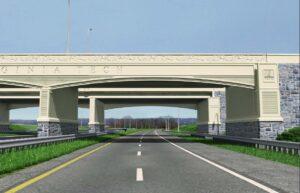 I-460 Bridge at VTech