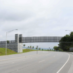 Conceptual view of planned bridge over Prices Fork