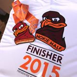 Hokie Half Marathon Bird